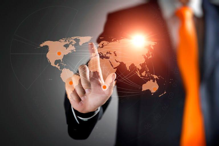 World-Map-Global-Business-Technology