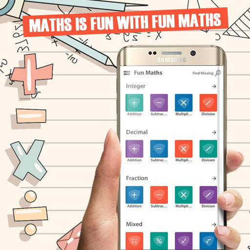 [ANDROID APP] Fun Maths - Gamification Maths