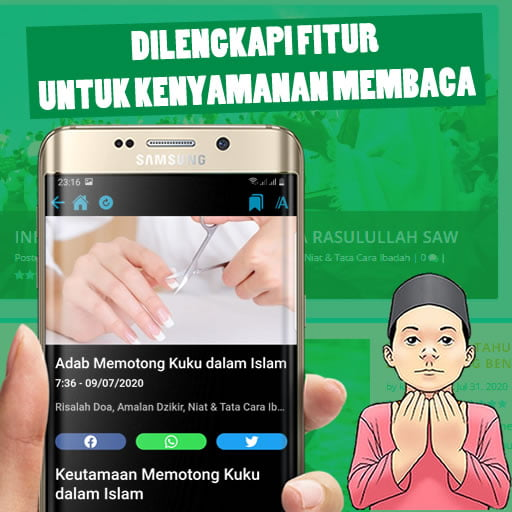 Android App - Kumpulan Doa dan Amalan Dzikir